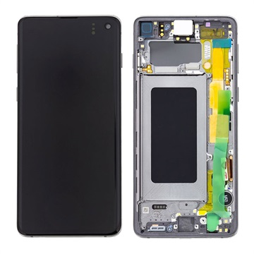 Samsung Galaxy S10 Front Cover & LCD Display GH82-18850A - Black