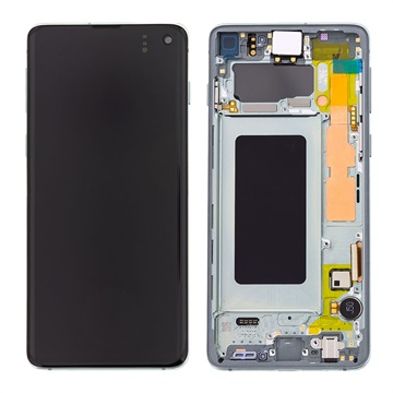 Samsung Galaxy S10 Front Cover & LCD Display GH82-18850E - Green