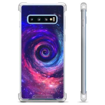 Samsung Galaxy S10+ Hybrid Case - Galaxy