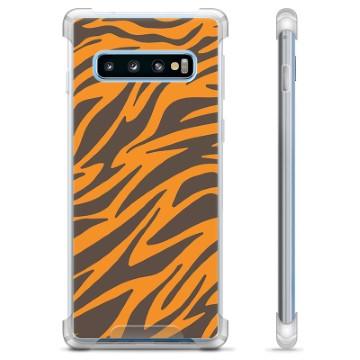 Samsung Galaxy S10+ Hybrid Case - Tiger
