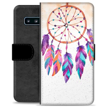 Samsung Galaxy S10+ Premium Wallet Case - Dreamcatcher