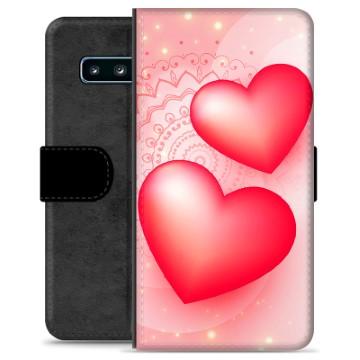 Samsung Galaxy S10+ Premium Wallet Case - Love