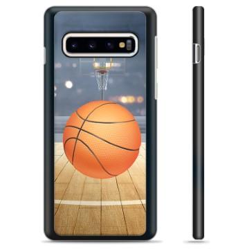 Samsung Galaxy S10 Protective Cover - Basketball