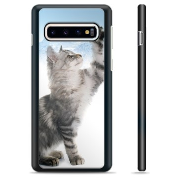 Samsung Galaxy S10 Protective Cover - Cat