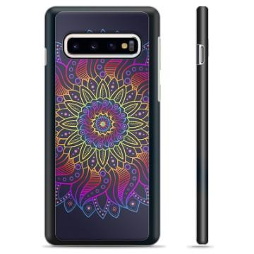 Samsung Galaxy S10+ Protective Cover - Colorful Mandala