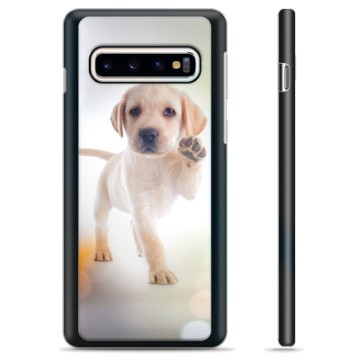 Samsung Galaxy S10 Protective Cover - Dog