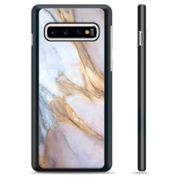 Samsung Galaxy S10+ Protective Cover - Elegant Marble