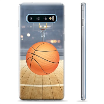 Samsung Galaxy S10+ TPU Case - Basketball