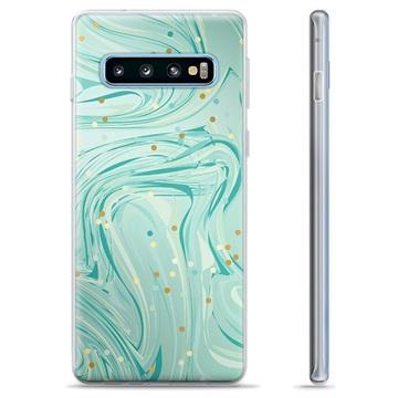 Samsung Galaxy S10+ TPU Case - Green Mint