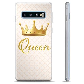 Samsung Galaxy S10+ TPU Case - Queen