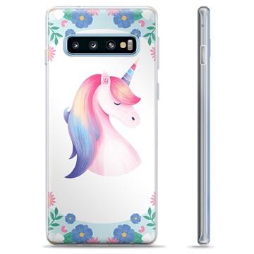 Samsung Galaxy S10+ TPU Case - Unicorn