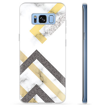 Samsung Galaxy S8 TPU Case - Abstract Marble