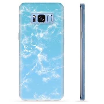 Samsung Galaxy S8 TPU Case - Blue Marble