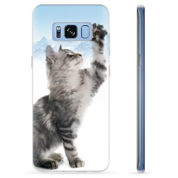 Samsung Galaxy S8 TPU Case - Cat