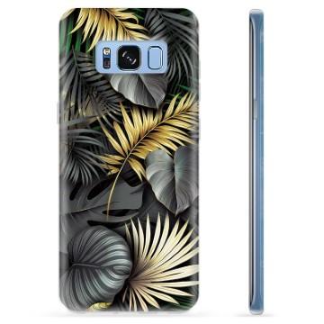 Samsung Galaxy S8 TPU Case - Golden Leaves