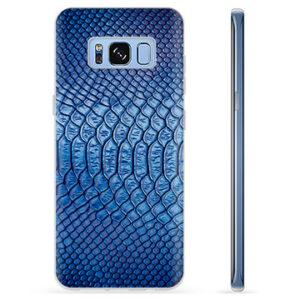 Samsung Galaxy S8 TPU Case - Leather