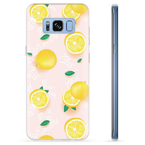 Samsung Galaxy S8 TPU Case - Lemon Pattern