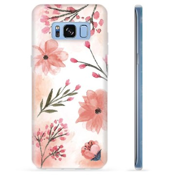 Samsung Galaxy S8 TPU Case - Pink Flowers