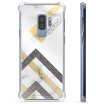 Samsung Galaxy S9+ Hybrid Case - Abstract Marble
