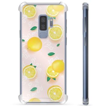 Samsung Galaxy S9+ Hybrid Case - Lemon Pattern