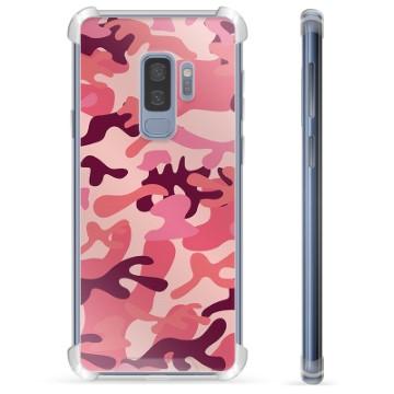 Samsung Galaxy S9+ Hybrid Case - Pink Camouflage