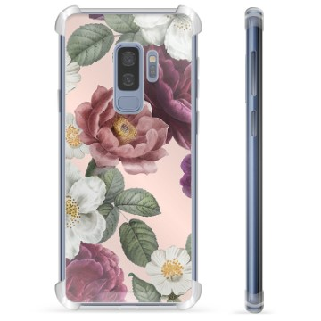 Samsung Galaxy S9+ Hybrid Case - Romantic Flowers