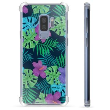 Samsung Galaxy S9+ Hybrid Case - Tropical Flower