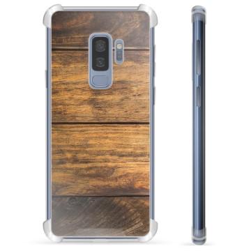 Samsung Galaxy S9+ Hybrid Case - Wood