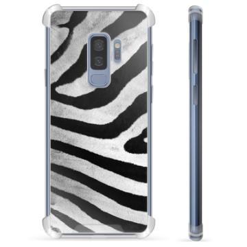Samsung Galaxy S9+ Hybrid Case - Zebra