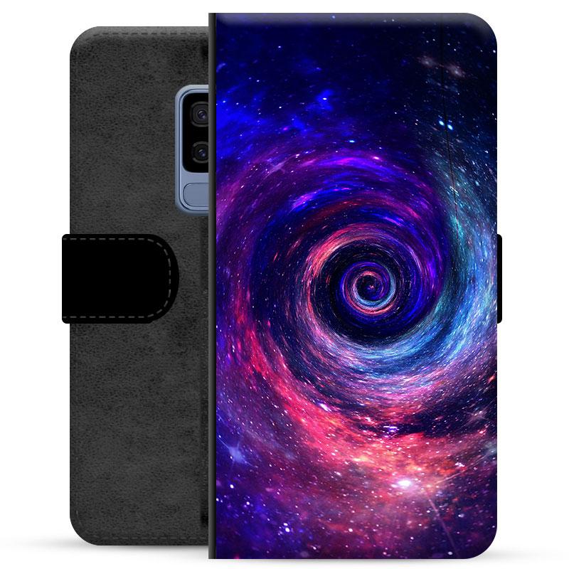 Samsung Galaxy S9+ Premium Wallet Case - Galaxy