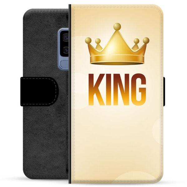 Samsung Galaxy S9+ Premium Wallet Case - King