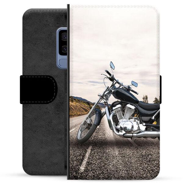 Samsung Galaxy S9+ Premium Wallet Case - Motorbike
