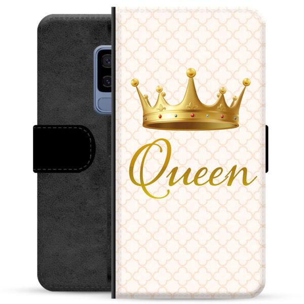 Samsung Galaxy S9+ Premium Wallet Case - Queen