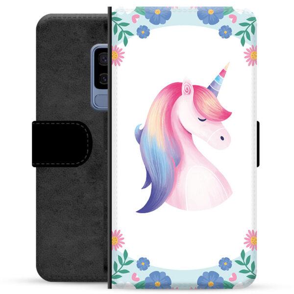 Samsung Galaxy S9+ Premium Wallet Case - Unicorn