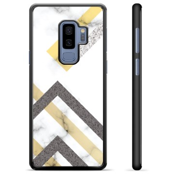 Samsung Galaxy S9+ Protective Cover - Abstract Marble