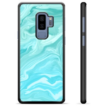 Samsung Galaxy S9+ Protective Cover - Blue Marble