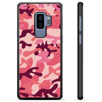 Samsung Galaxy S9+ Protective Cover - Pink Camouflage