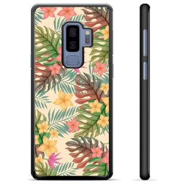 Samsung Galaxy S9+ Protective Cover - Pink Flowers