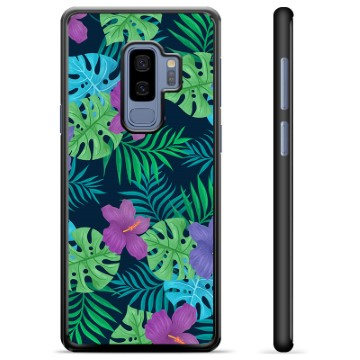 Samsung Galaxy S9+ Protective Cover - Tropical Flower