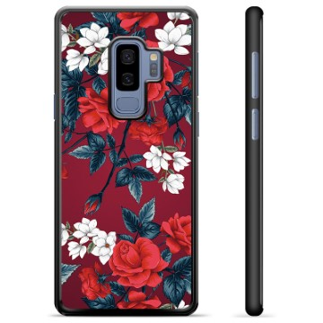 Samsung Galaxy S9+ Protective Cover - Vintage Flowers