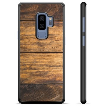 Samsung Galaxy S9+ Protective Cover - Wood