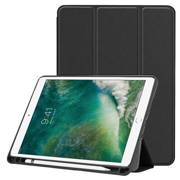 Tri-Fold Series iPad Air (2019) / iPad Pro 10.5 Folio Case - Black