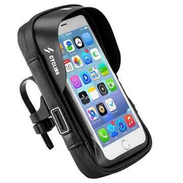 Universal Water Resistant Bicycle Case & Holder - 6.0 - Black