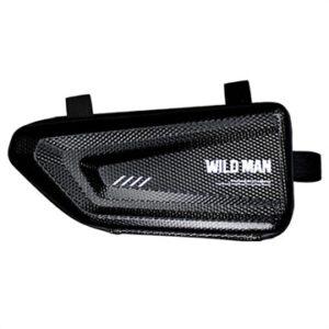 Wild Man E4 Water-resistant Bicycle Frame Case - 1l - Black