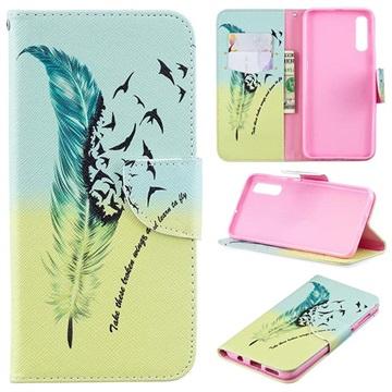 Wonder Series Samsung Galaxy A50 Wallet Case - Birds
