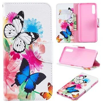 Wonder Series Samsung Galaxy A50 Wallet Case - Butterflies