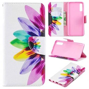 Wonder Series Samsung Galaxy A50 Wallet Case - Flower