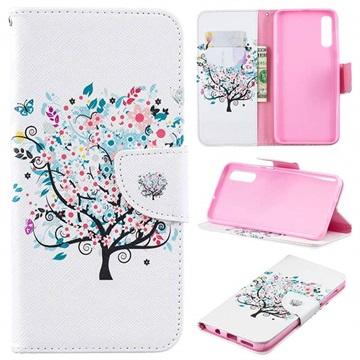 Wonder Series Samsung Galaxy A50 Wallet Case - Flowering Tree