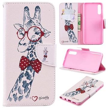 Wonder Series Samsung Galaxy A50 Wallet Case - Giraffe