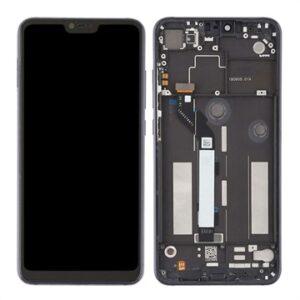 Xiaomi Mi 8 Lite Front Cover & LCD Display - Black
